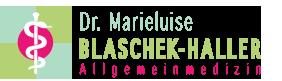 Dr. Marieluise Blaschek-Haller Logo
